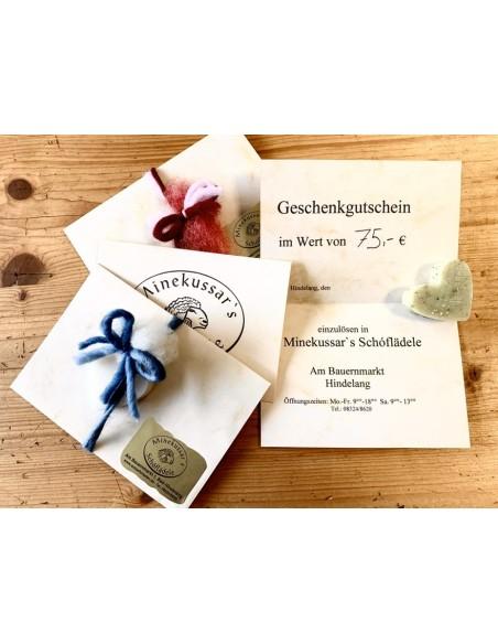 75 € Gutschein Schäferladen