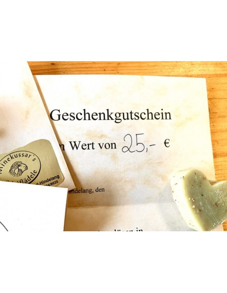 25 € Gutschein vom Schäferladen