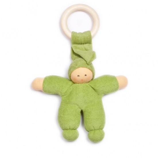 Pimpel mit Ring grün