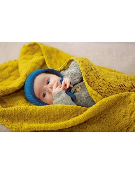 Disana Babydecke gelb