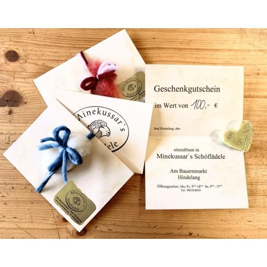 Geschenkgutschein vom Schafladen